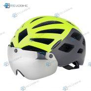 کلاه ایمنی دوچرخه کینگ بایک مدل Eye Shield